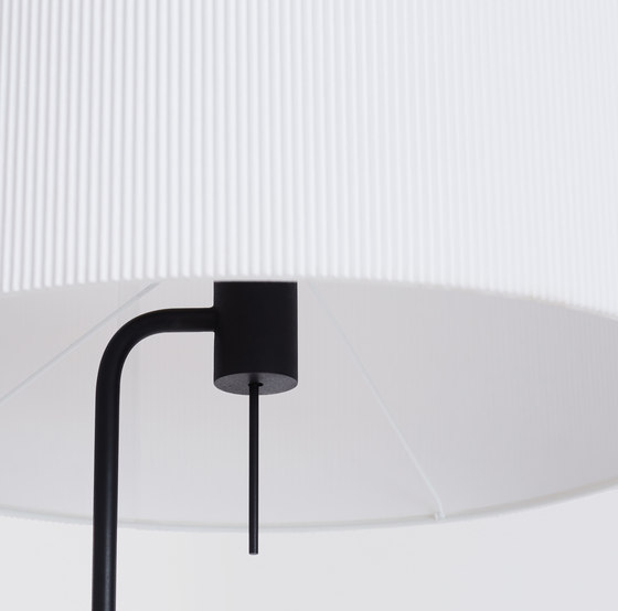 Pleat Drum Floor Lamp by Design Within Reach | Free-standing lights