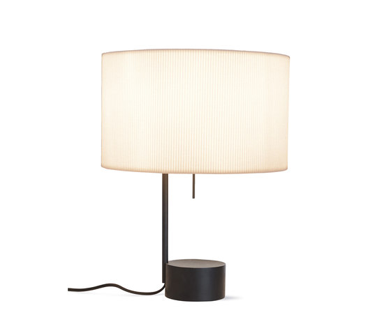 Pleat Drum Table Lamp by Design Within Reach | Table lights