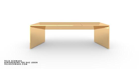 ESCRITORIO I-I edición especial - Oro de Rechteck | Mesas contract