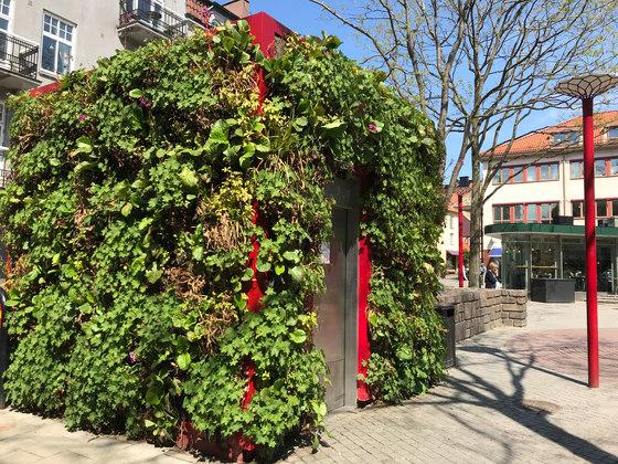 Outdoor Vertical Garden | Public Toilet Helsingborg de Greenworks | Fachadas verdes