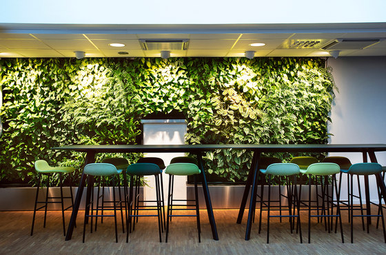 Indoor Vertical Garden | Åke Sundvall by Greenworks | Plant pots