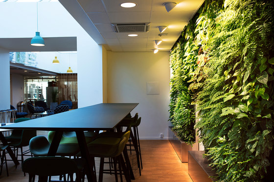 Indoor Vertical Garden | Åke Sundvall de Greenworks | Maceteros