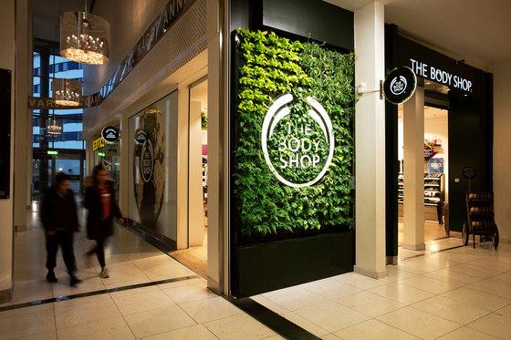 Indoor Vertical Garden | Body Shop Nacka Forum von Greenworks | Pflanzgefäße