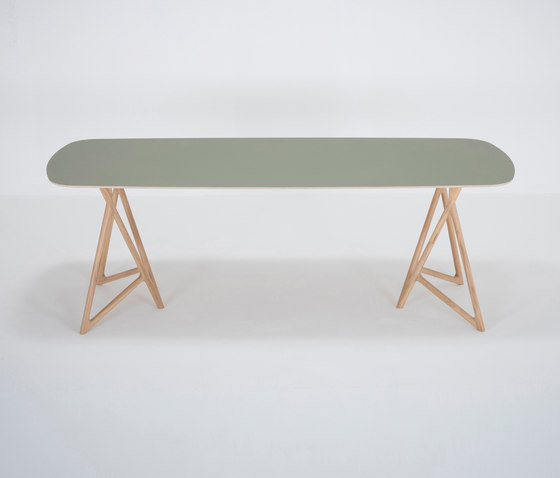 Koza table | 220x90 | linoleum by Gazzda | Dining tables