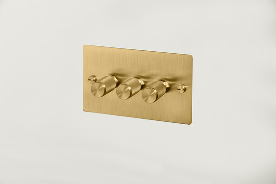Electricity | 3G Dimmer | Brass di Buster + Punch | Dimmer manopola