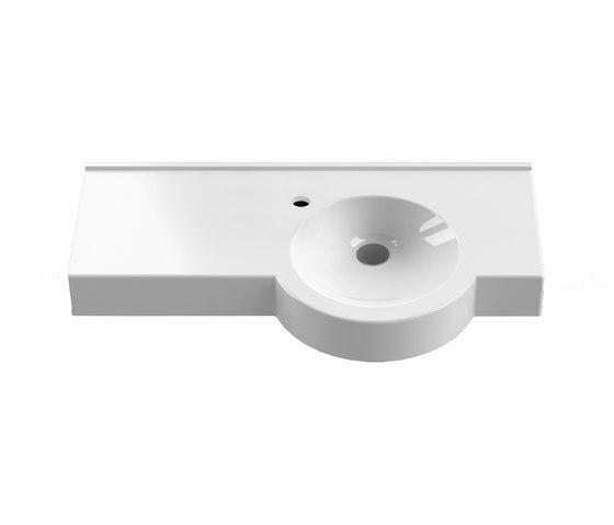 StoneTec Kim I 550/400 customized washbasin by CONTI+ | Wash basins