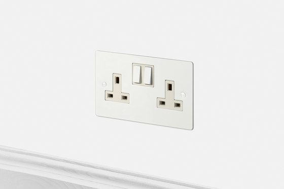 Electricity   2G UK Socket   White by Buster + Punch   British sockets