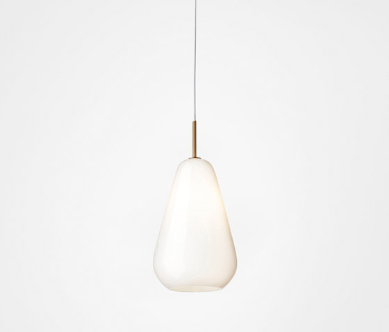 Anoli 1 Medium opal by Nuura | Suspended lights