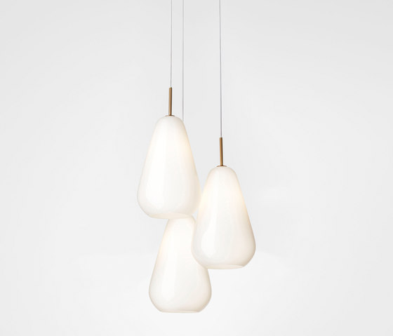 Anoli 3 opal by Nuura | Suspended lights