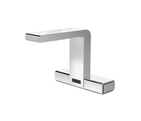 Senso lavatory faucet, with IR-sensor, with electronic mixing by CONTI+ | Wash basin taps