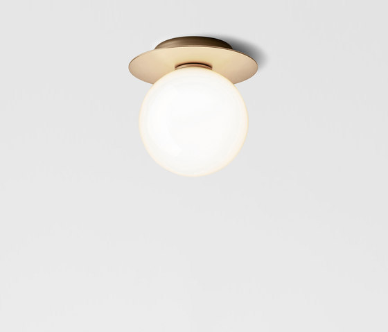Liila 1 Medium Opal by Nuura | Wall lights