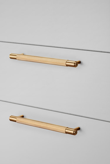Pull Bar   Nude   Brass by Buster + Punch   Cabinet handles
