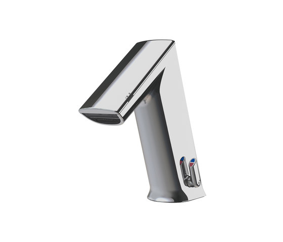 ultra lavatory faucet GM10 PUBLIC, with IR-Sensor, with mixing - battery by CONTI+ | Wash basin taps