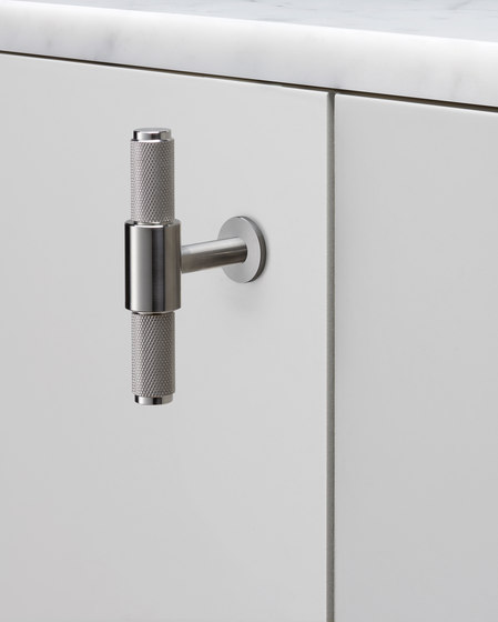 T Bar | Nude | Steel by Buster + Punch | Cabinet handles