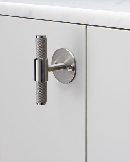 T Bar   Plate   Steel by Buster + Punch   Cabinet handles