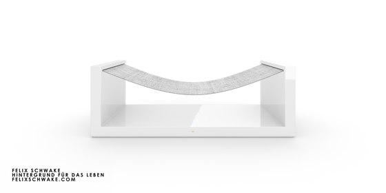 SILLA V edición especial - Lacado piano blanco de Rechteck | Hamacas