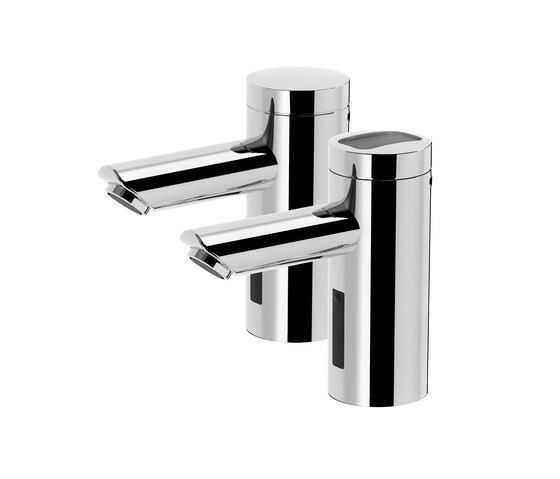 lino lavatory faucet L20, with IR-Sensor, without mixing - battery de CONTI+ | Grifería para lavabos