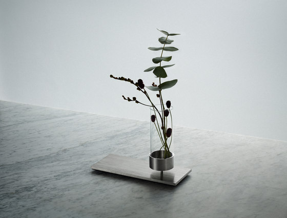 Machined | Vase | Steel by Buster + Punch | Vases