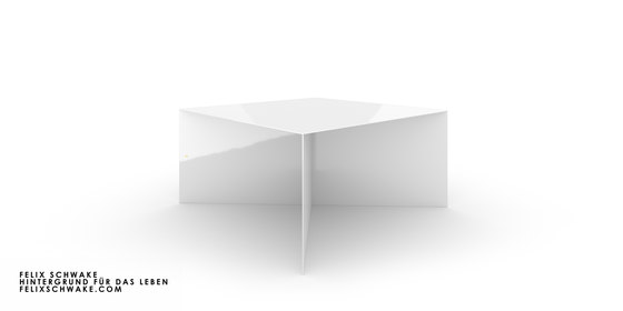 TAVOLO IV edizione speciale - Lacca per piano bianca di Rechteck | Tavoli contract