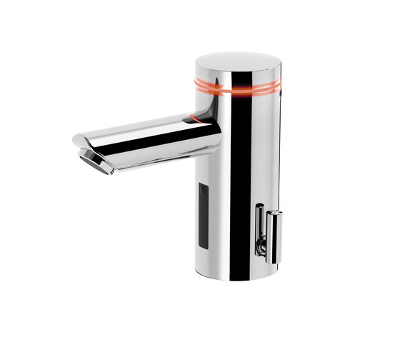 Lumino lavatory faucet L10i, with IR-Sensor, with mixing, without drain assembly by CONTI+   Wash basin taps