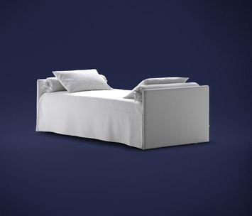 Duetto letto di flou prodotto - Prezzo letto flou ...