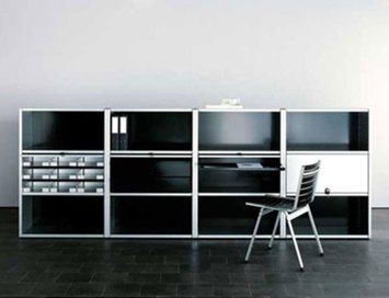 office regal von lehni produkt. Black Bedroom Furniture Sets. Home Design Ideas
