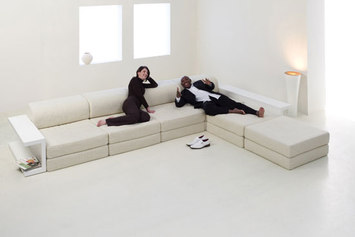 Ludus by mobilia collection modular sofa product for Mobilia group
