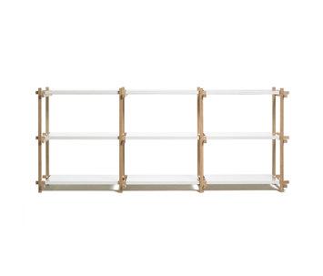 woody von hay low high mini column high column. Black Bedroom Furniture Sets. Home Design Ideas