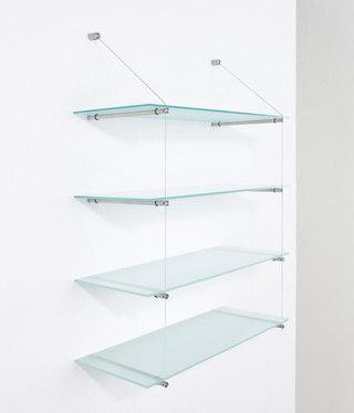 Glasregale von phos design glasregal rst 260 glasregal for Glasregale