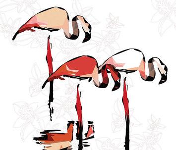 Flamingo Dada By Wall Amp Dec 242 Product
