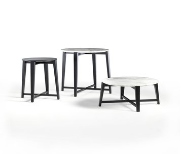 tris by flexform occasional table product. Black Bedroom Furniture Sets. Home Design Ideas