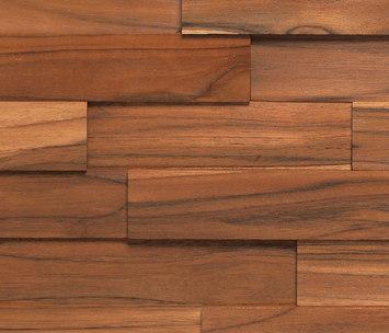 Teca Deck Pared Revestimiento Fachada Muro Mosaico