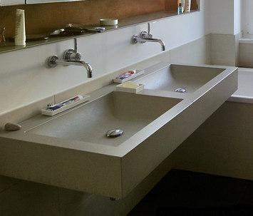 waschtische von oggi beton izumi betonwaschtisch kreta. Black Bedroom Furniture Sets. Home Design Ideas
