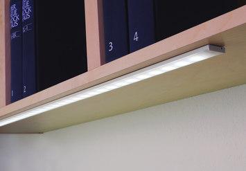 Led flat line flat led under cabinet luminaire de hera led - Luminaire sous meuble cuisine ...