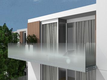 Parapetti in vetro per balconi prezzi