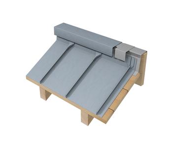 Dachdeckungssysteme Doppelstehfalz Von Rheinzink