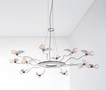 birdie s ring by ingo maurer product. Black Bedroom Furniture Sets. Home Design Ideas