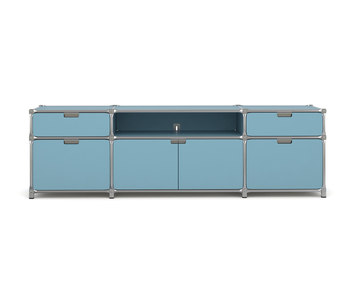 sideboard by system 180 tv hifi rack tv board. Black Bedroom Furniture Sets. Home Design Ideas