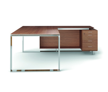 X7 executive furniture de quadrifoglio office furniture for Mobilier bureau quadrifoglio