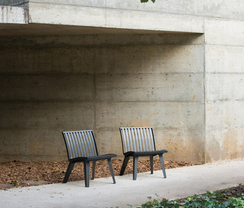 Montreal by area chair bench product - Chaise design montreal ...
