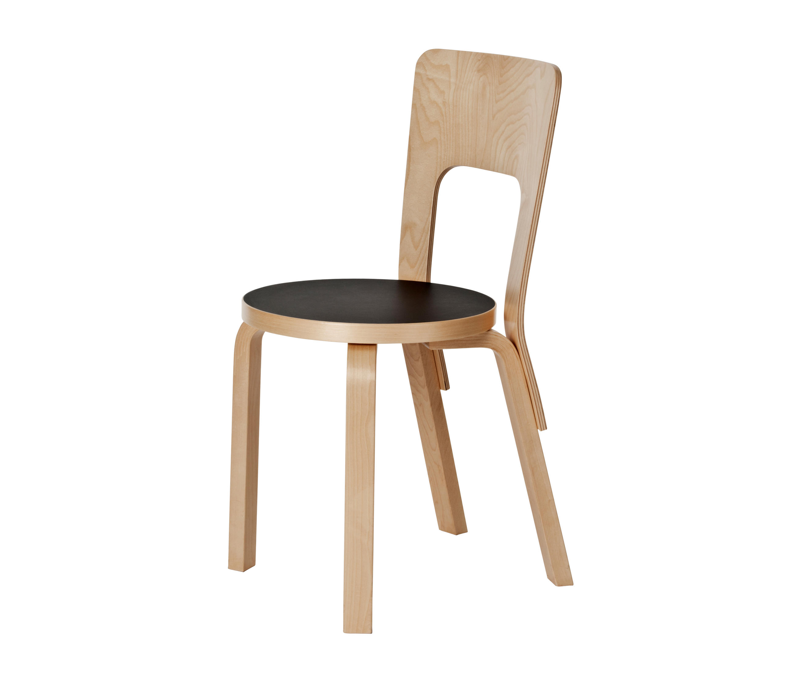 Chair 66 multipurpose chairs from artek architonic for Chaise 66 alvar aalto