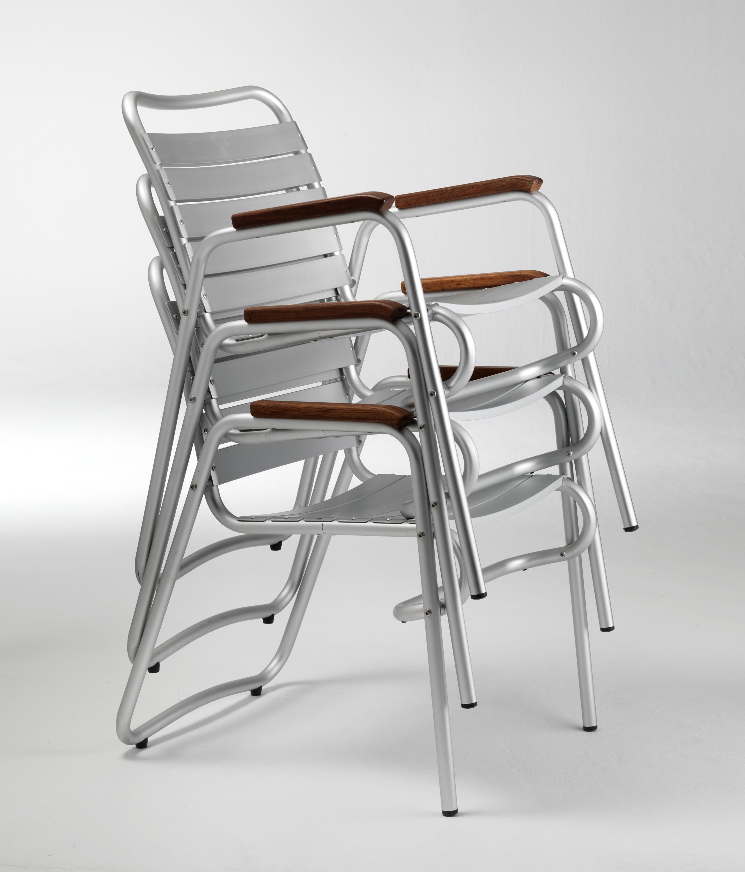 Stuhl alu good design garten stuhl von borek aluminium for Alu chair nachbau
