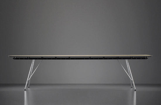 unistandardtisch executive desks from atelier alinea. Black Bedroom Furniture Sets. Home Design Ideas