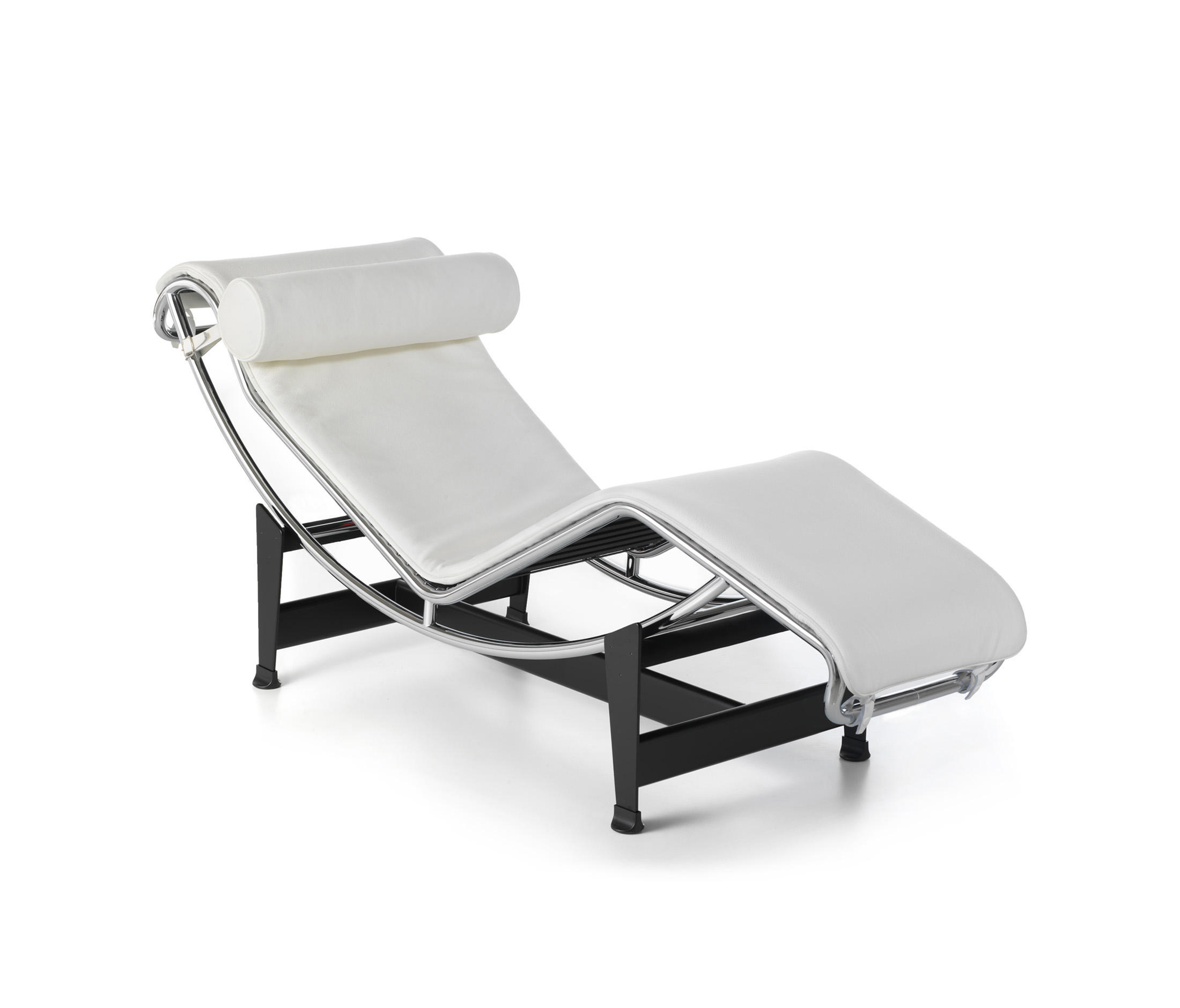 mid chaise lounge modern product le style chairish corbusier chair century