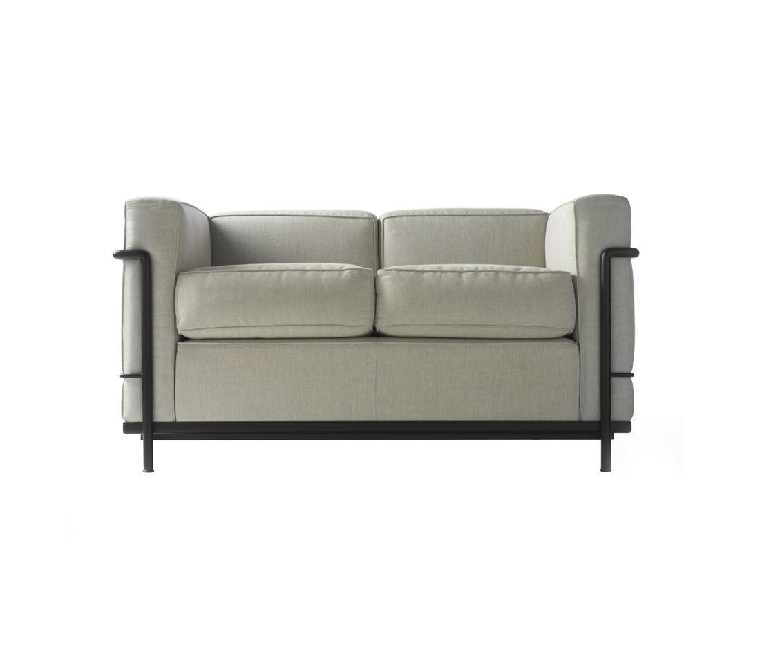 Remarkable Lc2 2 Seater Sofa Designer Furniture Architonic Spiritservingveterans Wood Chair Design Ideas Spiritservingveteransorg