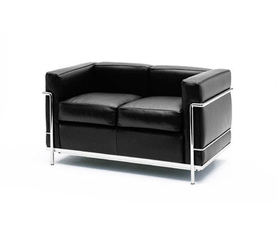 Lc2 2 Seater Sofa Designer Furniture Architonic
