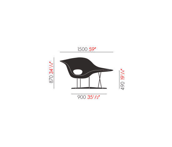 La Chaise - Chaise Longues From Vitra | Architonic