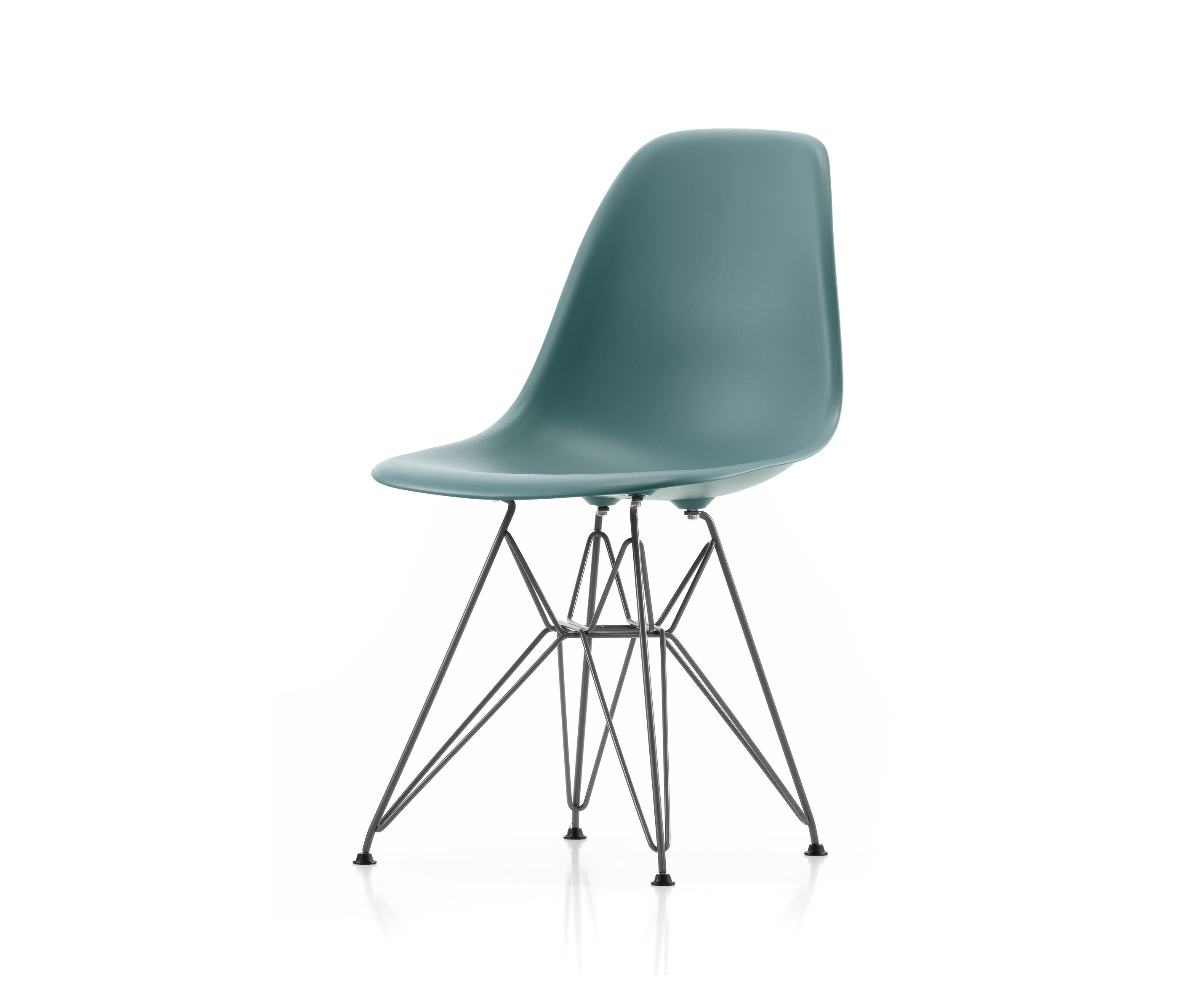 vitra chair the vitra eames dsw plastic upholstered chair