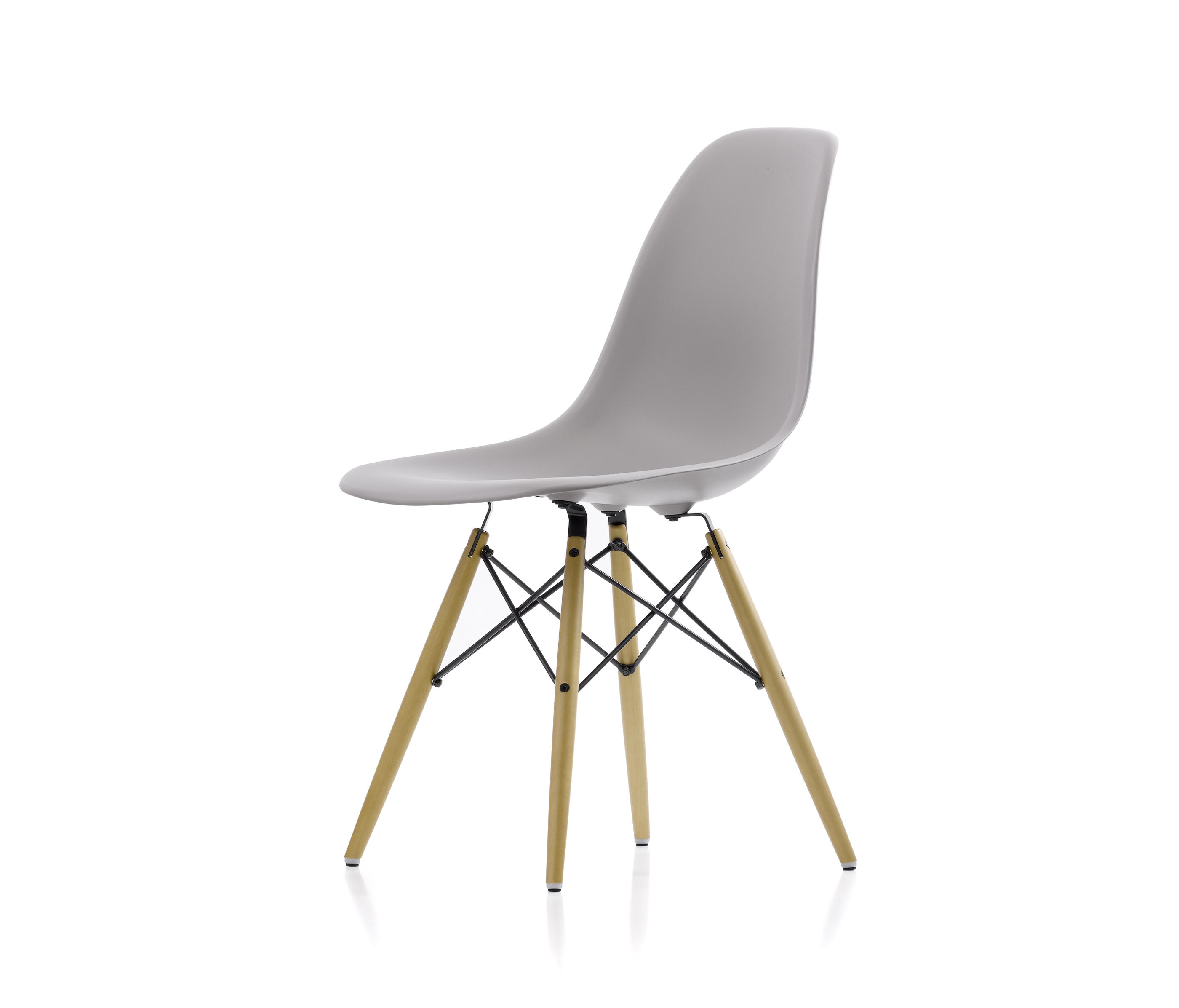 eames plastic side chair dsw multipurpose chairs from vitra architonic. Black Bedroom Furniture Sets. Home Design Ideas
