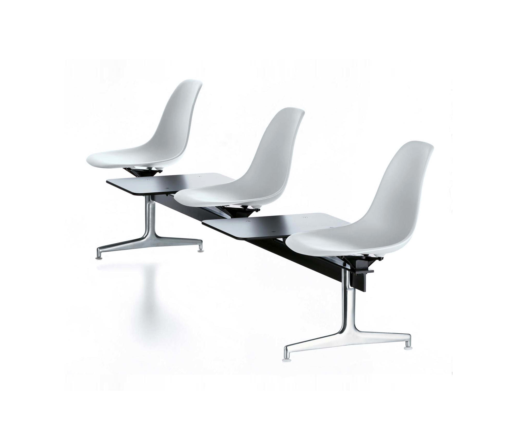 Eames Plastic Side Chair On Stretchers By Vitra | Beam / Traverse Seating